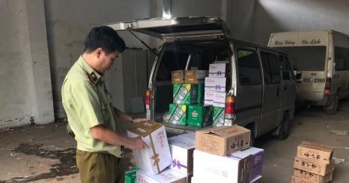 Phát hiện 1.000 sản phẩm nhập lậu trên đường tuồn vào Việt Nam tiêu thụ