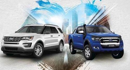 Ford Việt Nam triệu hồi 2 dòng xe Ranger và Explorer để thay thế linh kiện