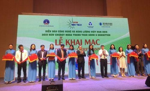 Diễn đàn Công nghệ và Năng lượng Việt Nam 2019: Kết nối cung cầu