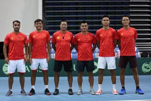 Tuyển quần vợt Việt Nam thăng hạng lên nhóm 2 Davis Cup