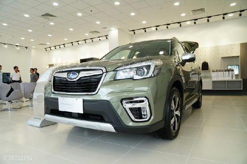 Cận cảnh Subaru Forester sản xuất tại Thái Lan