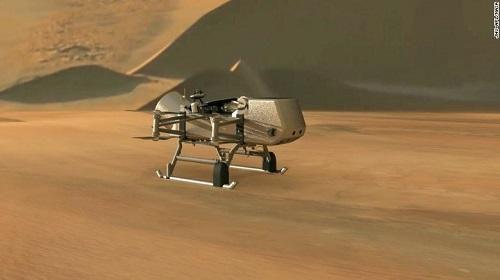 NASA triển khai nhiệm vụ Chuồn chuồn, khám phá mặt trăng Titan để tìm kiếm sự sống