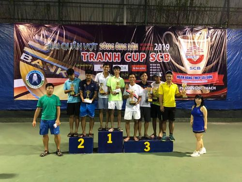 Hơn 450 VĐV tranh tài ở giải quần vợt Sông Ông Lớn 2019
