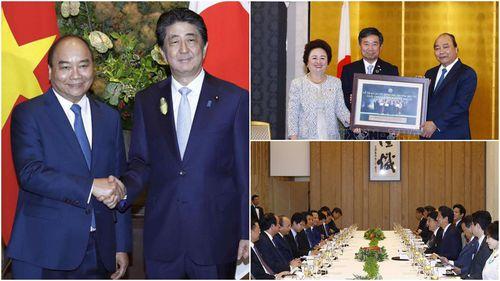 Hình ảnh hoạt động của Thủ tướng Nguyễn Xuân Phúc tại Nhật Bản
