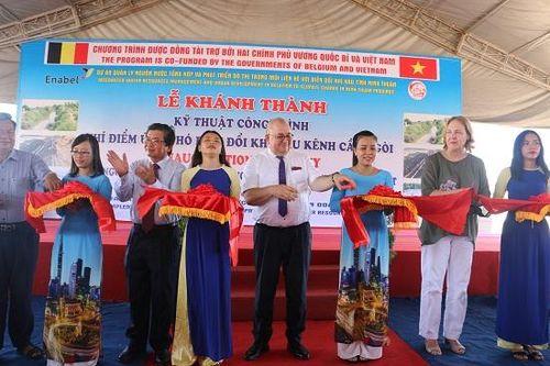 Đại sứ Bỉ đến thăm tỉnh Ninh Thuận