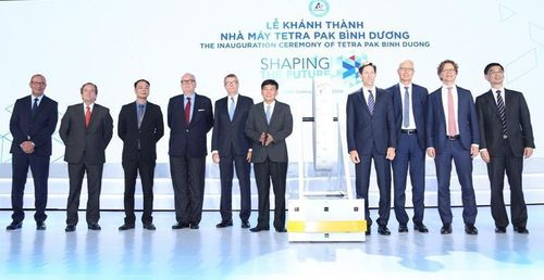Tetra Pak khánh thành nhà máy 120 triệu Euro ở Bình Dương