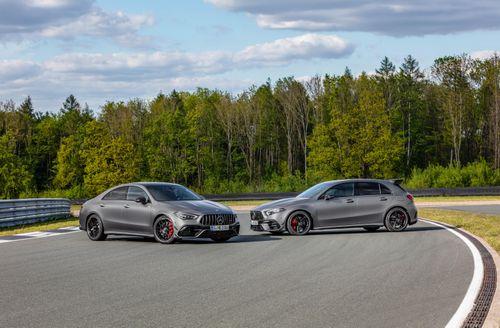 Mercedes-AMG CLA 45 và A 45 2020 lộ diện