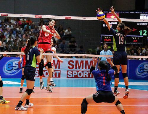 Giải vô địch bóng chuyền U.23 nữ châu Á 2019: Chủ nhà 'dễ thở' ở vòng bảng
