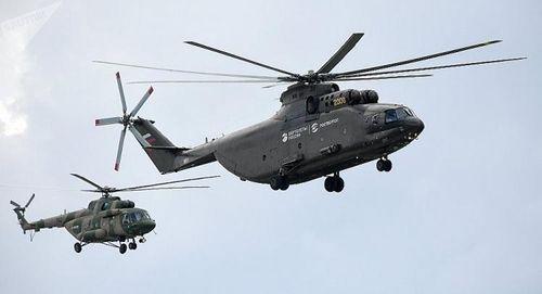 Nga phát triển phiên bản Bắc Cực của dòng trực thăng nặng nhất thế giới