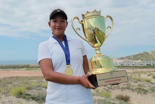 Nguyễn Thảo My lần thứ 3 vô địch giải golf nữ quốc gia