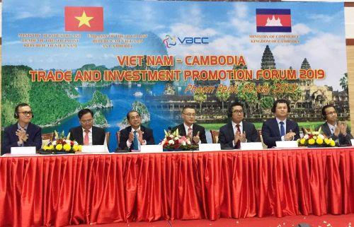 Diễn đàn thúc đẩy thương mại và đầu tư Việt Nam - Campuchia năm 2019