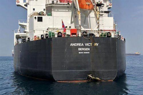 Tàu chở dầu bị tấn công ở Vùng Vịnh cập cảng Iran bất chấp tố cáo của Mỹ