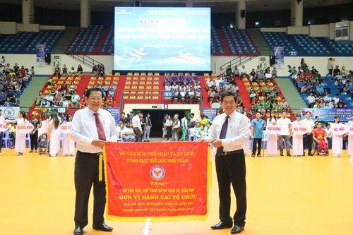 Sôi nổi Giải Vô địch Điền kinh và Bơi thể thao Người khuyết tật toàn quốc 2019