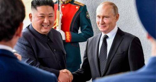 Triều Tiên phát hành tem kỷ niệm cuộc gặp với Tổng thống Nga Putin