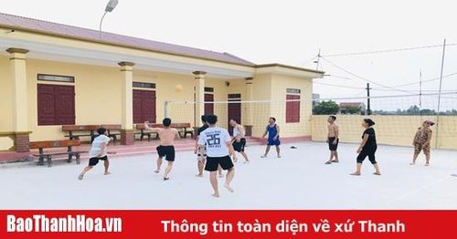Sôi nổi phong trào thể dục thể thao ở huyện Hoằng Hóa