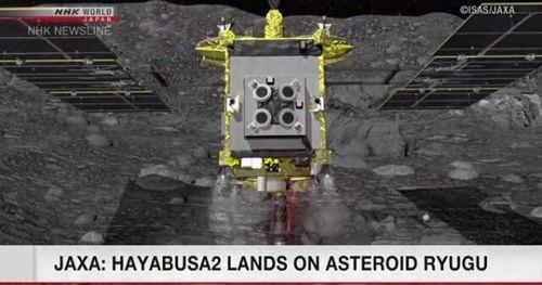 Tàu vũ trụ Nhật Bản đã thu thập mẫu đất của tiểu hành tinh Ryugu