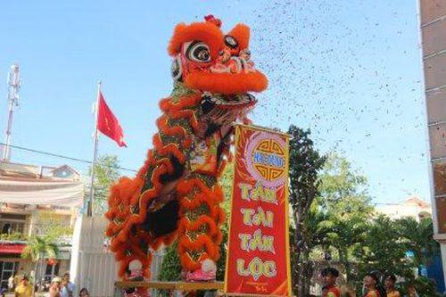 'Mục sở thị' 2 tiết mục múa lân lập Kỷ lục Châu Á