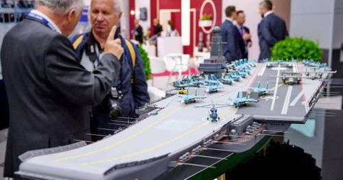 Hé lộ thông tin về tàu sân bay Lamantin của Nga
