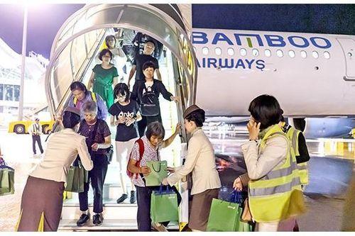 Bamboo Airways đón chuyến bay đầu tiên từ Ma Cao - Trung Quốc