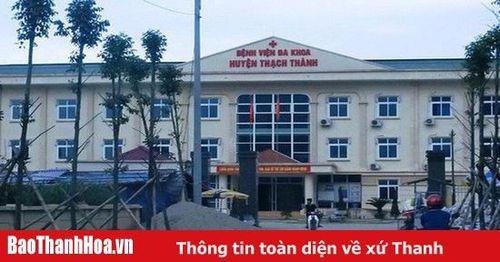 Bộ Y tế yêu cầu báo cáo sự cố y khoa tại Bệnh viện đa khoa huyện Thạch Thành