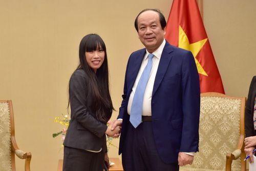 Bộ trưởng Mai Tiến Dũng tiếp Chủ tịch Nhóm Nghị sĩ hữu nghị Pháp-Việt