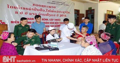 Đối ngoại biên phòng tốt để xây dựng biên giới Việt - Lào hòa bình, hữu nghị