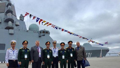 Việt Nam dự Triển lãm Hải quân quốc tế tại Nga