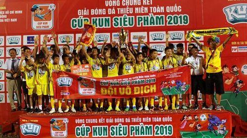 Sông Lam Nghệ An vô địch bóng đá thiếu niên toàn quốc 2019
