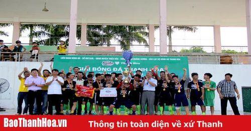 Giải bóng đá Thanh Hóa - Cúp Huda 2019 kết thúc thành công tốt đẹp