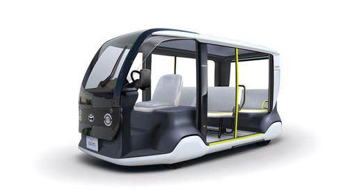 Toyota phát triển xe chuyên dụng dành riêng cho Thế vận hội Toyota 2020