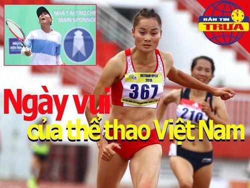Tay vợt trẻ Minh Đức, Quách Thị Lan đem đến tin vui cho TTVN