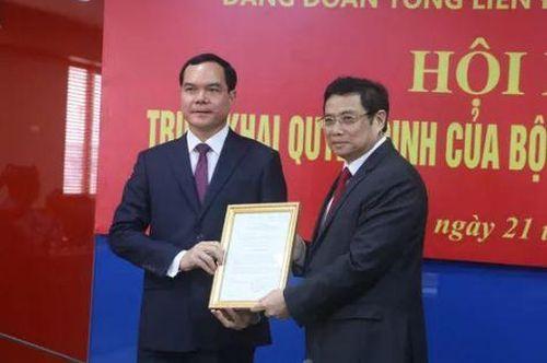 Bí thư tỉnh Hà Nam Nguyễn Đình Khang được điều động nhận chức vụ mới