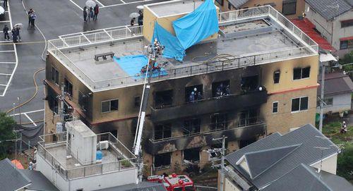 Cảnh sát Nhật Bản bắt giữ nghi can đốt xưởng phim hoạt hình