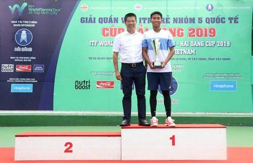Vũ Hà Minh Đức vô địch Giải quần vợt quốc tế ITF trẻ nhóm 5