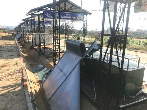 Quảng Ngãi: Chợ tiền tỷ trên đảo Lý Sơn 'chết yểu' vì nằm sát nghĩa địa
