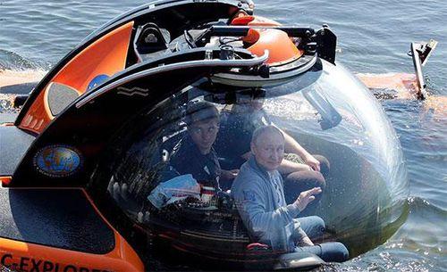 Tổng thống Putin mô tả quang cảnh khi chìm 50m dưới vịnh Phần Lan