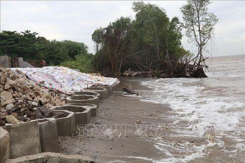 Khẩn trương ổn định cuộc sống người dân vùng sóng biển xâm thực