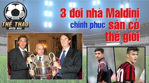 Dòng họ Maldini chinh phục bóng đá thế giới