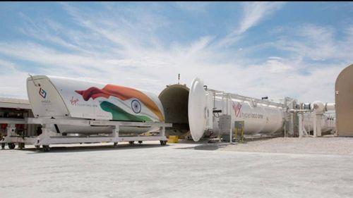 Ấn Độ sắp có tàu hyperloop đầu tiên trên thế giới