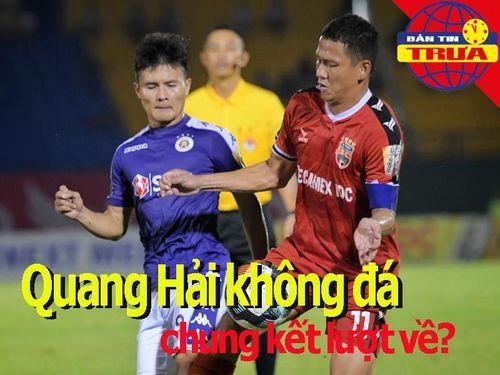 Quang Hải không đá chung kết AFC Cup?; Công Phượng tỏa sáng