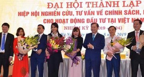 Ra mắt Hiệp hội Nghiên cứu, tư vấn về chính sách, pháp luật cho hoạt động đầu tư tại Việt Nam