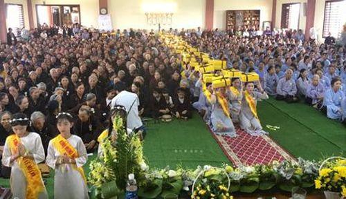 Tổ chức lễ Vu Lan báo hiếu tại chùa Đồng Đắc