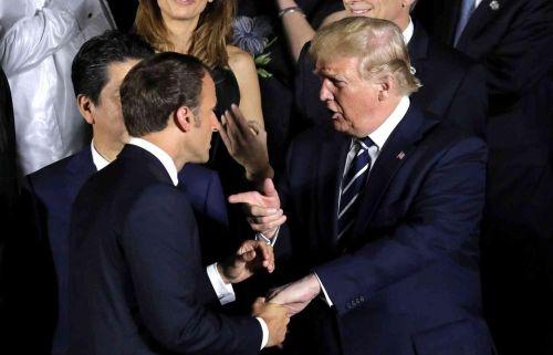 Tổng thống Mỹ cáo buộc lãnh đạo Pháp gửi tới Iran 'những tín hiệu lộn xộn'