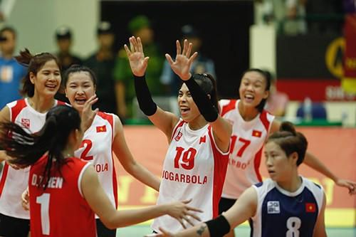 Đội tuyển nữ Việt Nam về nhì tại VTV Cup 2019