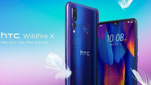HTC ra mắt smartphone Wildfire X có 3 camera sau, giá từ 155 USD