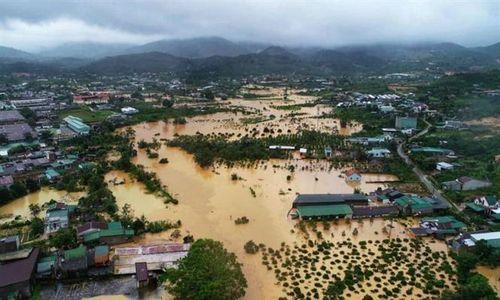 Ngập lụt trên cao nguyên