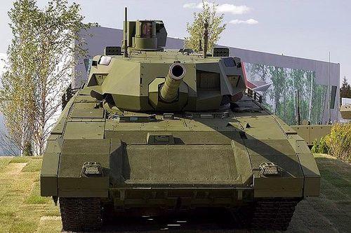 Hé lộ tốc độ kinh hoàng của siêu tăng T-14 Armata