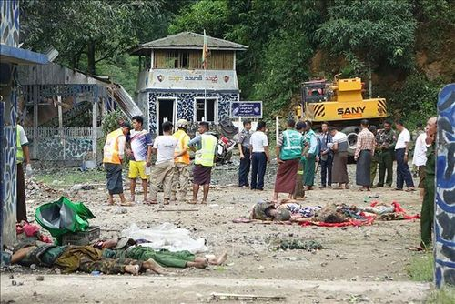 Phiến quân tấn công lực lượng an ninh Myanmar, 28 người thương vong