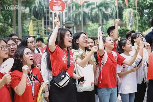 Ngày hội tựu trường của tân sinh viên Học viện Báo chí và Tuyên truyền