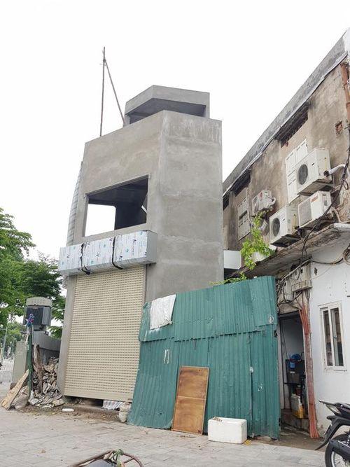 Hai Bà Trưng (Hà Nội): Một công trình có kiến trúc 'kỳ dị' được cấp phép xây dựng